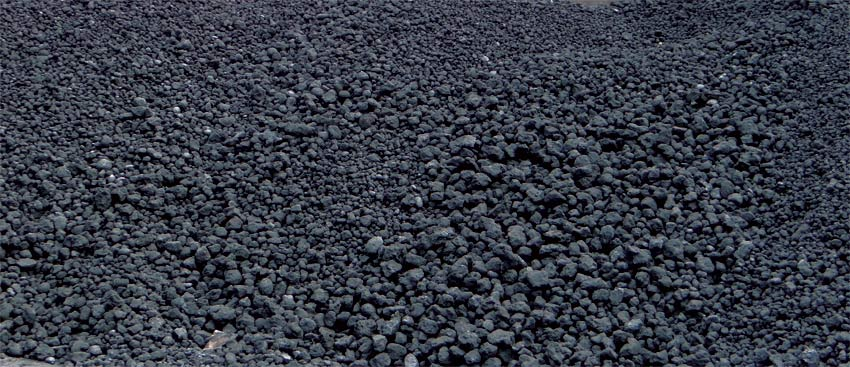 Petroleum coke (Pet coke or petcoke)