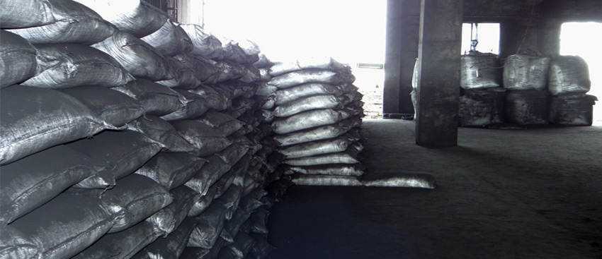 Finished Goods Stacking of Petroleum Coke